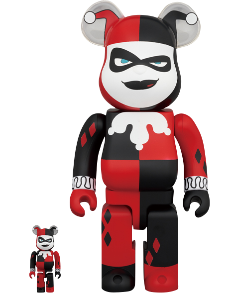 Medicom Toy Be@rbrick Harley Quinn (Batman the Animated Series Version) 100% & 400% Collectible Set