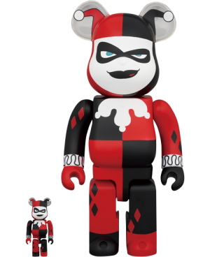 Be@rbrick Harley Quinn (Batman the Animated Series Version) 100% & 400% Collectible Set