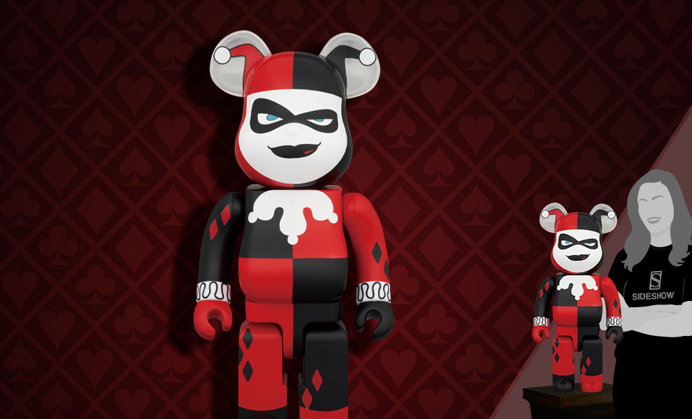 Gallery Feature Image of Be@rbrick Harley Quinn (Batman the Animated Series Version) 1000% Collectible Figure - Click to open image gallery