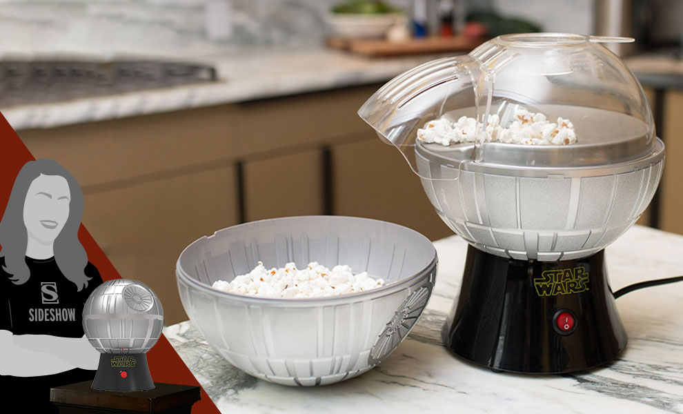 Gallery Feature Image of Death Star Popcorn Maker Kitchenware - Click to open image gallery