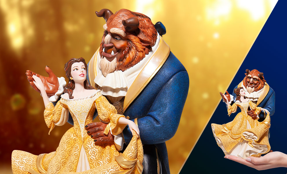 Gallery Feature Image of Beauty and the Beast Figurine - Click to open image gallery