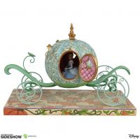 Gallery Image of Pumpkin Coach with Cinderella Figurine