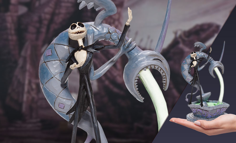 Gallery Feature Image of Jack Skellington Fountain Figurine - Click to open image gallery
