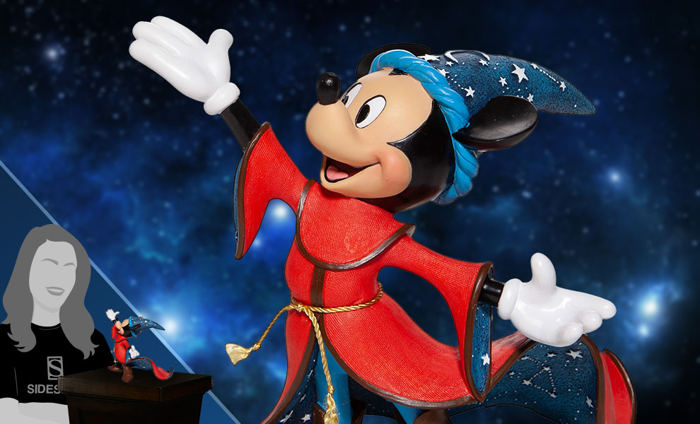 Gallery Feature Image of Sorcerer Mickey 80th Anniversary Figurine - Click to open image gallery