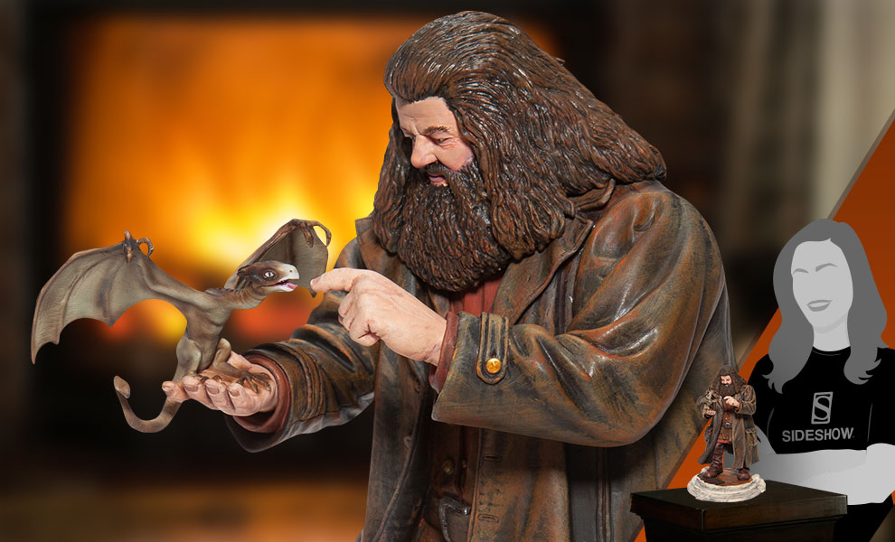 Gallery Feature Image of Hagrid & Norberta Figurine - Click to open image gallery