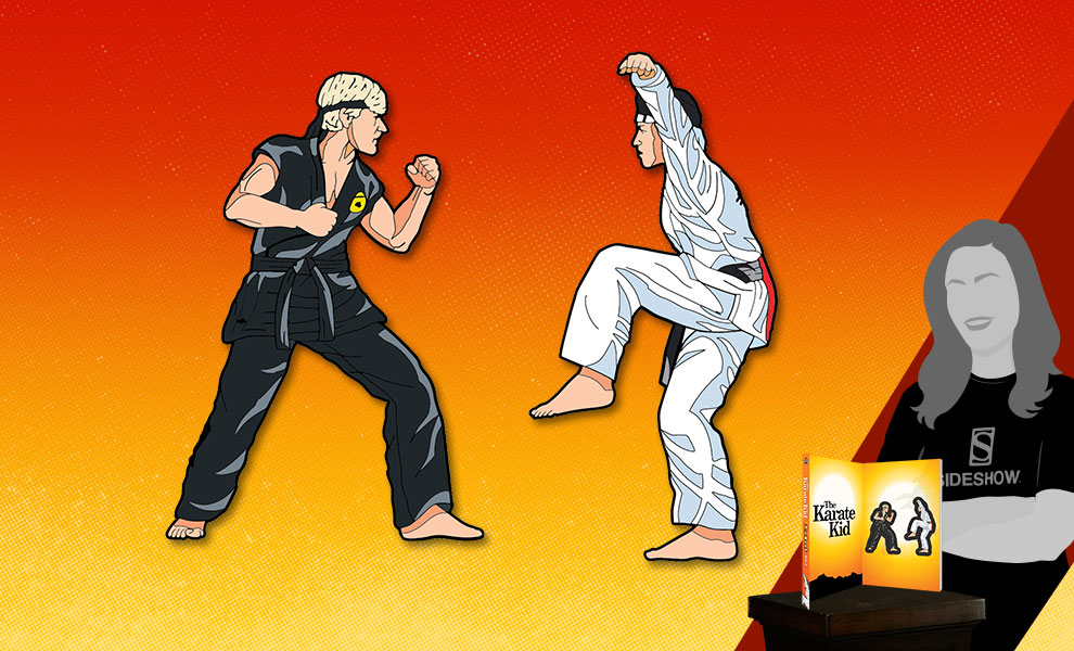 Gallery Feature Image of The Karate Kid Vol. 2 Pinbook Collectible Pin - Click to open image gallery