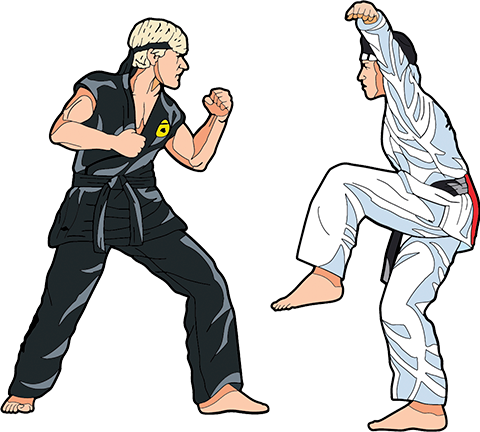 Icon Heroes The Karate Kid Vol. 2 Pinbook Collectible Pin