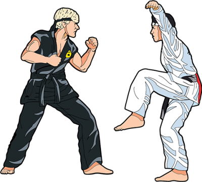 The Karate Kid Vol. 2 Pinbook Collectible Pin