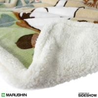 Gallery Image of Totoro in the Sunny Forest Plush Blanket Blanket