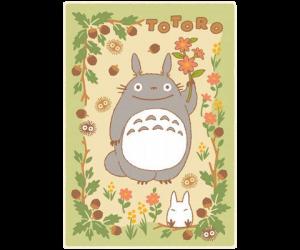 Totoro in the Sunny Forest Plush Blanket Blanket