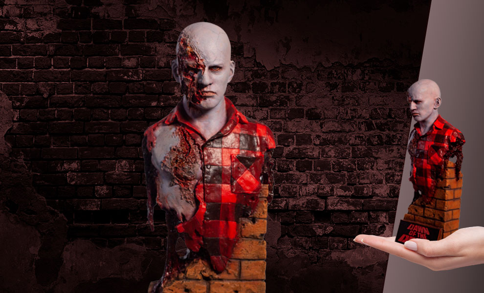 Gallery Feature Image of Dawn of the Dead Airport Zombie Bust - Click to open image gallery