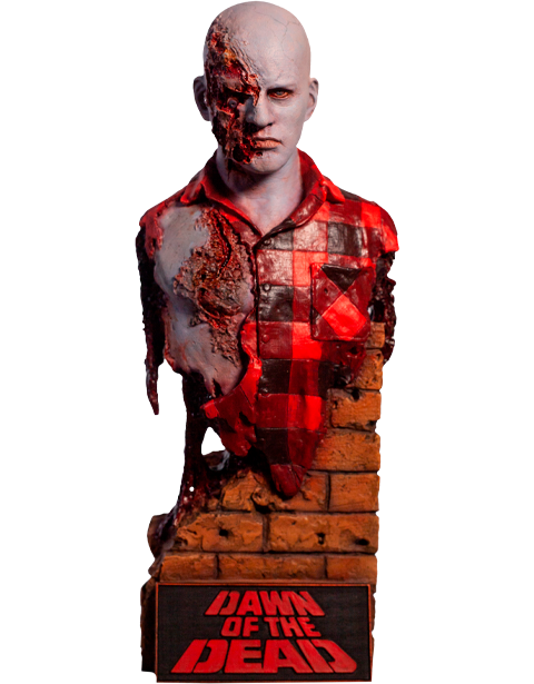 Trick or Treat Studios Dawn of the Dead Airport Zombie Bust