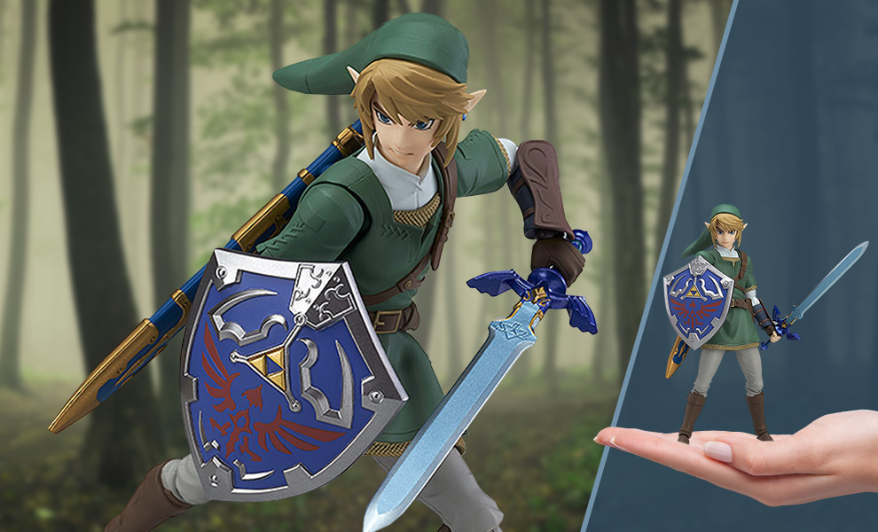 Gallery Feature Image of Link: Twilight Princess Version Figma Collectible Figure - Click to open image gallery