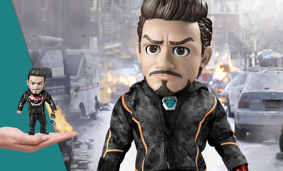 Gallery Feature Image of Tony Stark Nano Suit Action Figure - Click to open image gallery