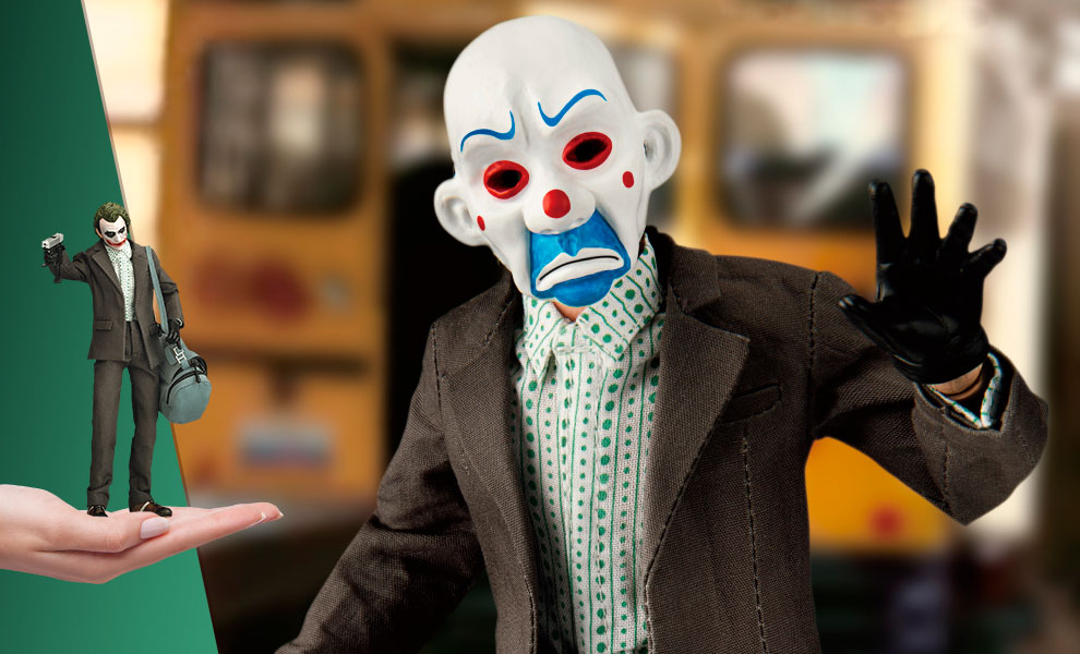Gallery Feature Image of The Joker (Bank Robber Version) Action Figure - Click to open image gallery