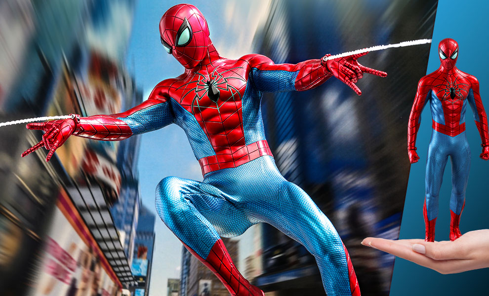 Gallery Feature Image of Spider-Man (Spider Armor - MK IV Suit) Sixth Scale Figure - Click to open image gallery