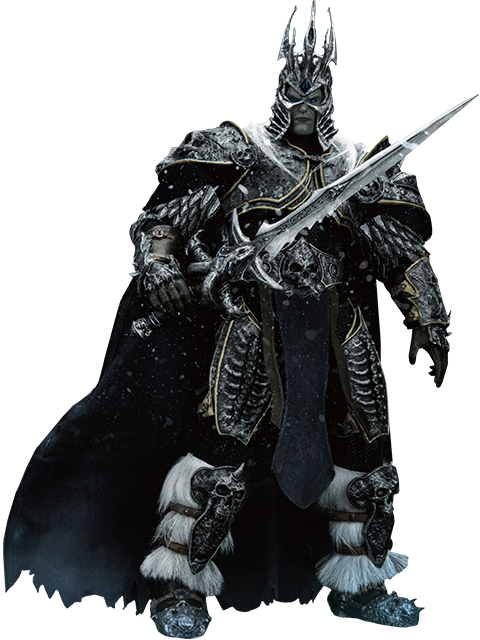 Beast Kingdom Wrath of the Lich King Arthas Menethil Action Figure