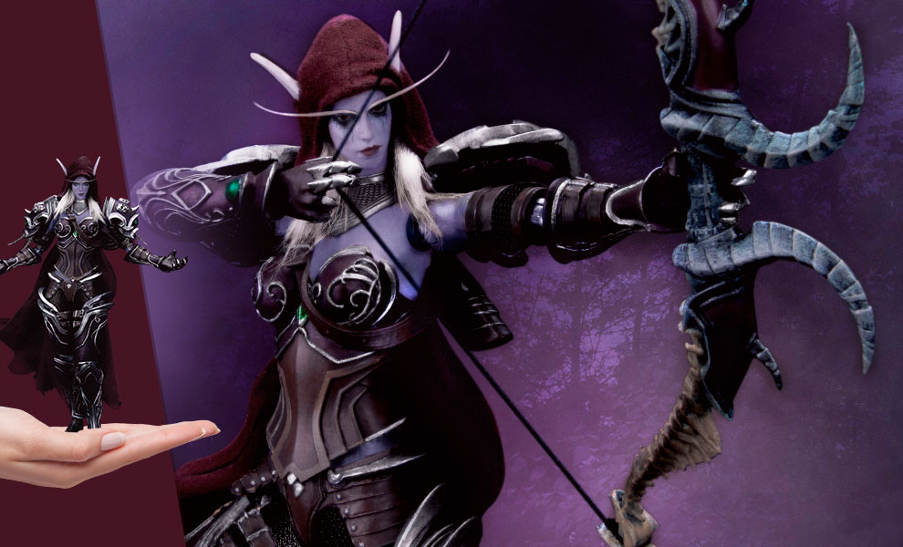 Gallery Feature Image of Sylvanas Windrunner Action Figure - Click to open image gallery