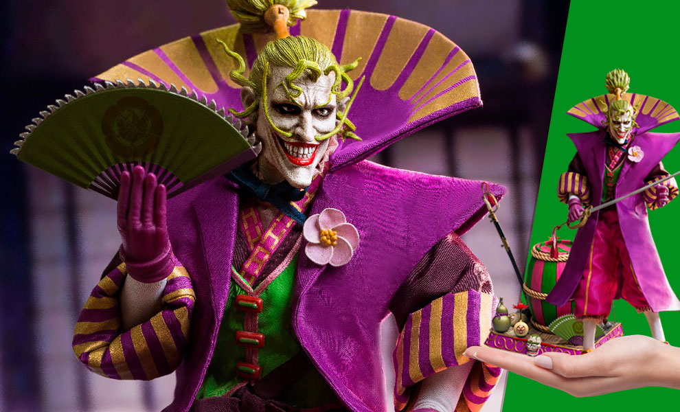 Gallery Feature Image of Lord Joker (Deluxe) Sixth Scale Figure - Click to open image gallery