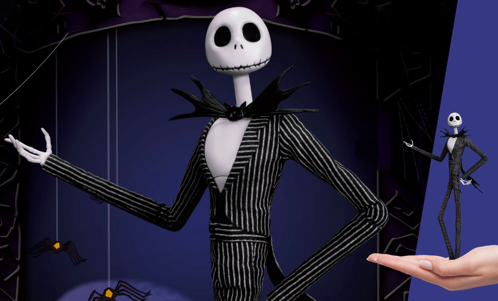 Gallery Feature Image of Jack Skellington Collectible Figure - Click to open image gallery