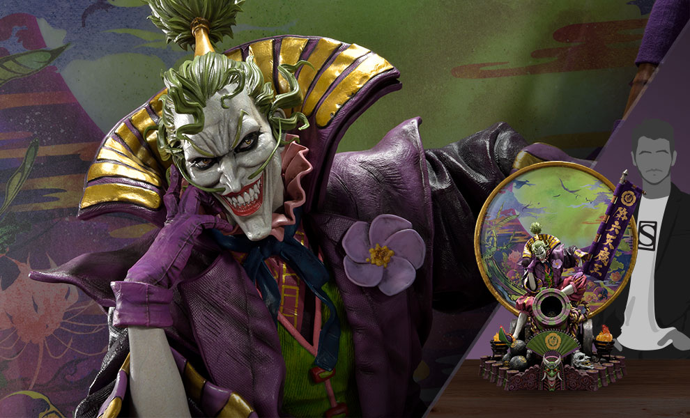 Gallery Feature Image of Sengoku Joker (Deluxe Version) Statue - Click to open image gallery