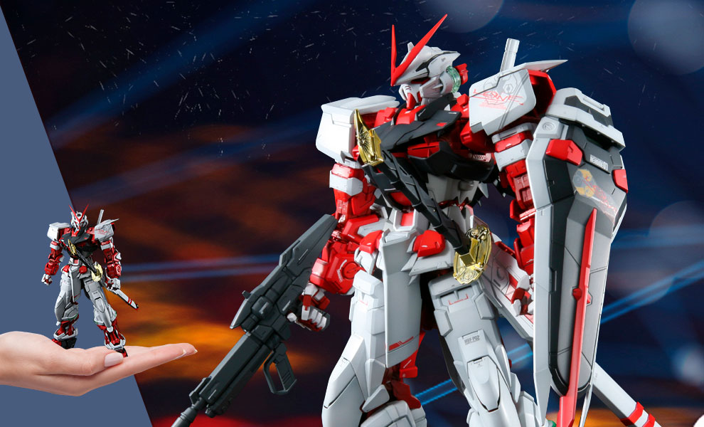 Gallery Feature Image of Gundam Astray Red Frame Collectible Figure - Click to open image gallery
