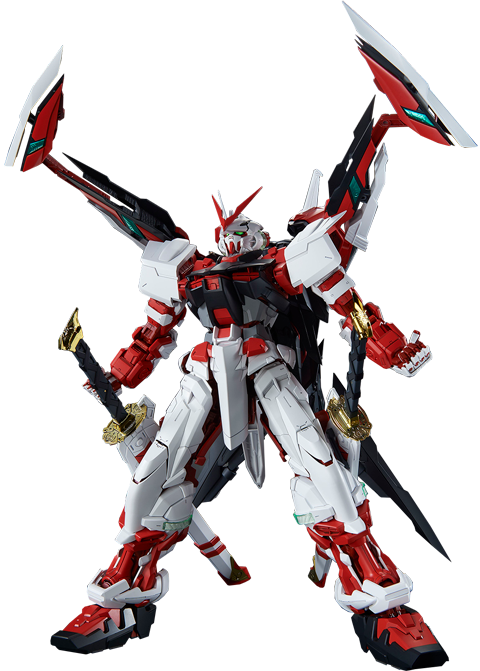Bandai Gundam Astray Red Frame Kai Collectible Figure