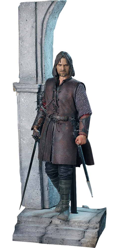 Asmus Collectible Toys Aragorn at Helm's Deep Sixth Scale Figure