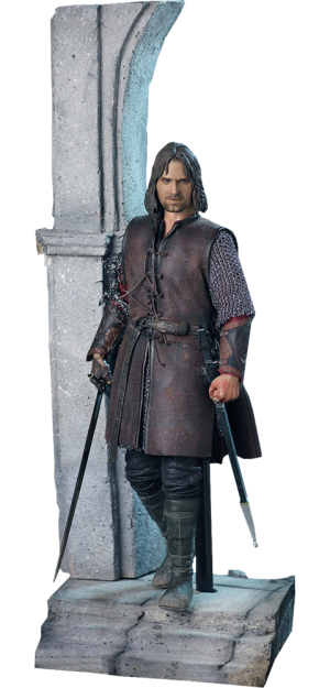 Aragorn at Helm's Deep Sixth Scale Figure