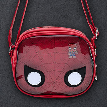 Spider-Man Pin Collector Crossbody Apparel