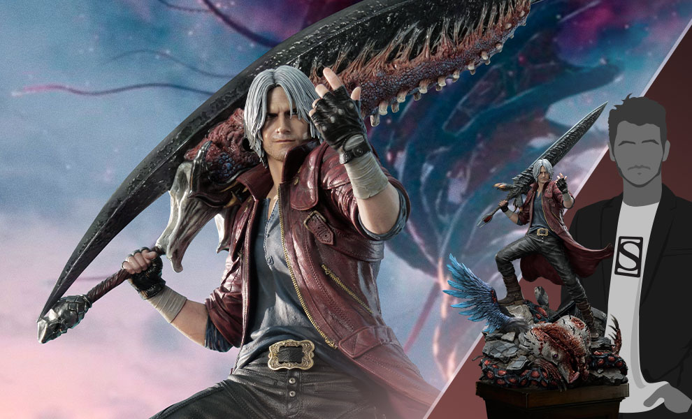 Gallery Feature Image of Dante Deluxe Statue - Click to open image gallery