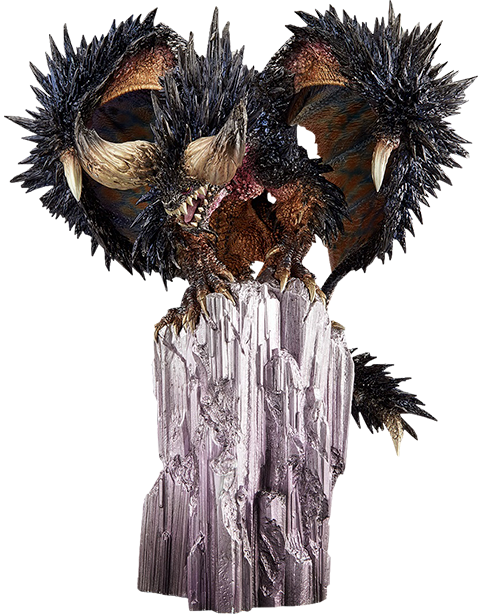 Capcom Arch-tempered Nergigante Collectible Figure