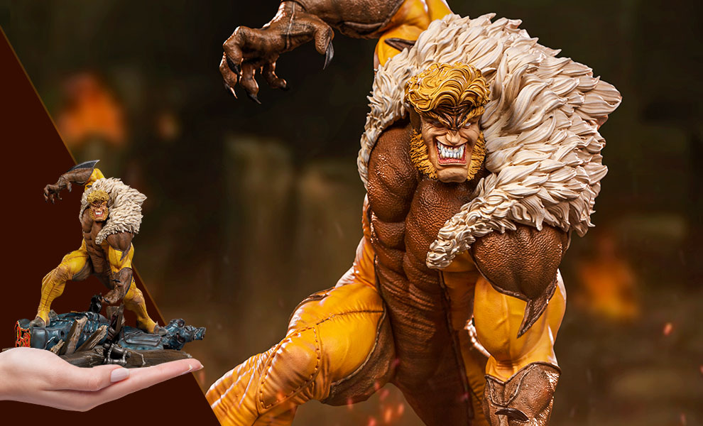 Gallery Feature Image of Sabretooth Statue - Click to open image gallery