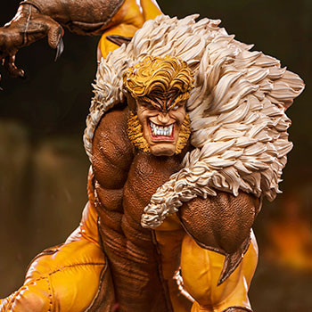 Sabretooth 1:10 Scale Statue
