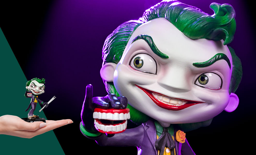 Gallery Feature Image of The Joker Mini Co. Collectible Figure - Click to open image gallery