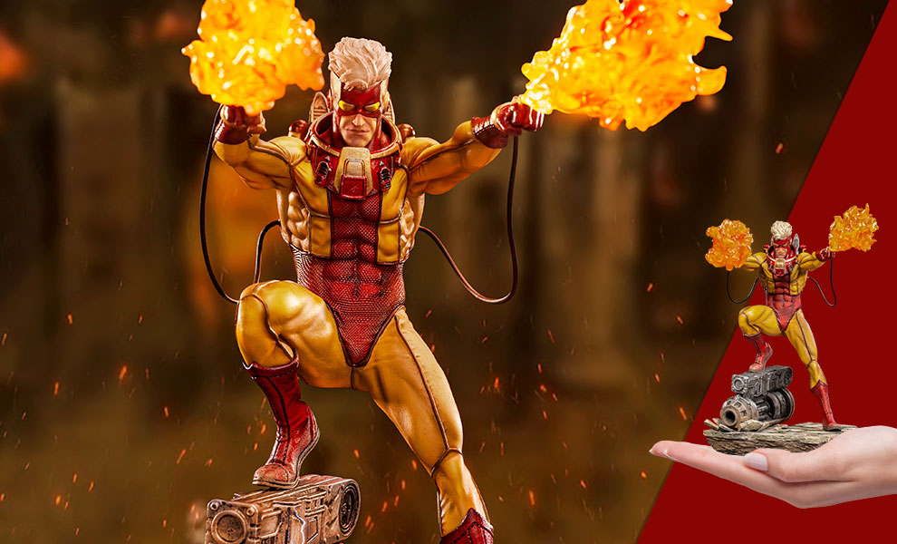 Gallery Feature Image of Pyro Statue - Click to open image gallery