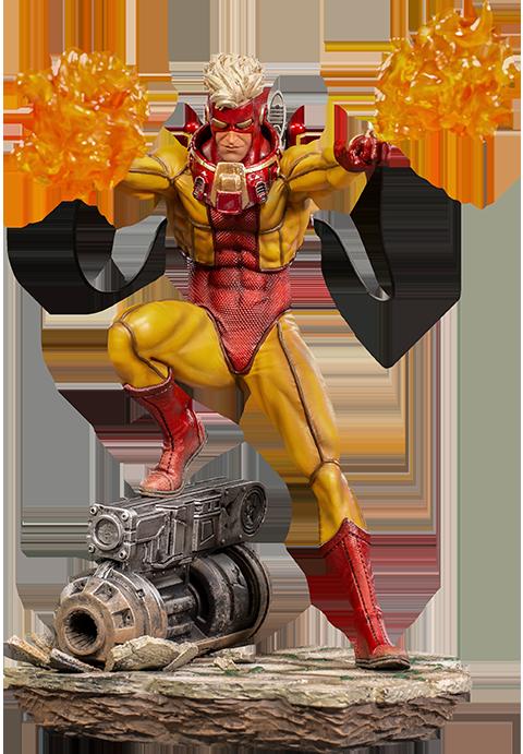 Iron Studios Pyro Statue