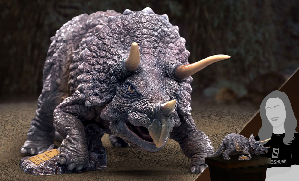 Gallery Feature Image of Triceratops Statue - Click to open image gallery
