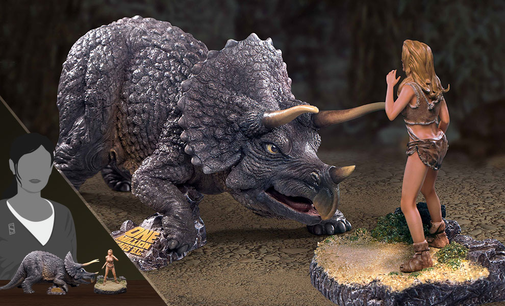 Gallery Feature Image of Triceratops & Loana Collectible Set - Click to open image gallery