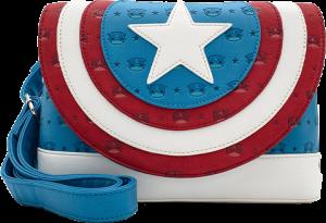 Captain America Shield Crossbody Apparel