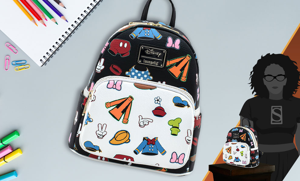Gallery Feature Image of Sensational 6 Outfits AOP Mini Backpack Apparel - Click to open image gallery