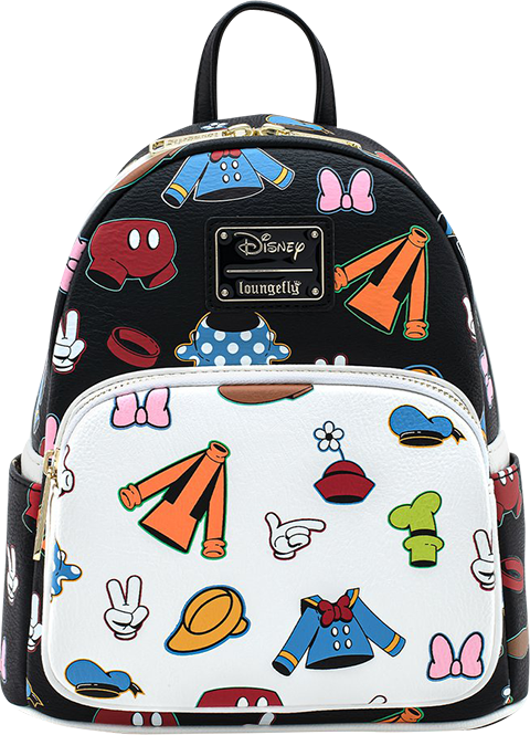 Loungefly Sensational 6 Outfits AOP Mini Backpack Apparel