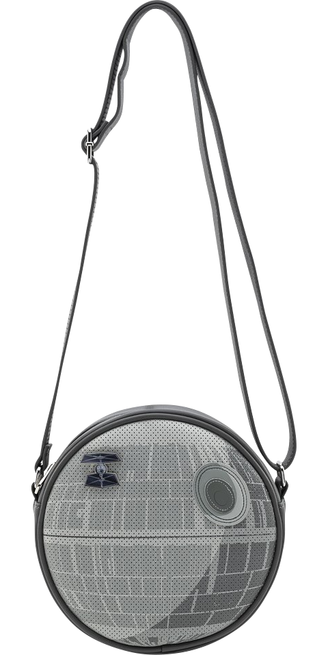 Loungefly Death Star Pin Collector Crossbody Apparel