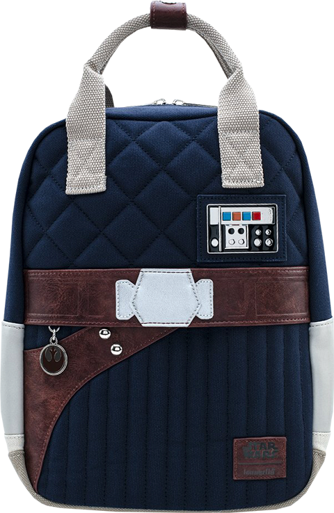 Loungefly Empire Strikes Back 40th Anniversary Han Solo Hoth Backpack Apparel