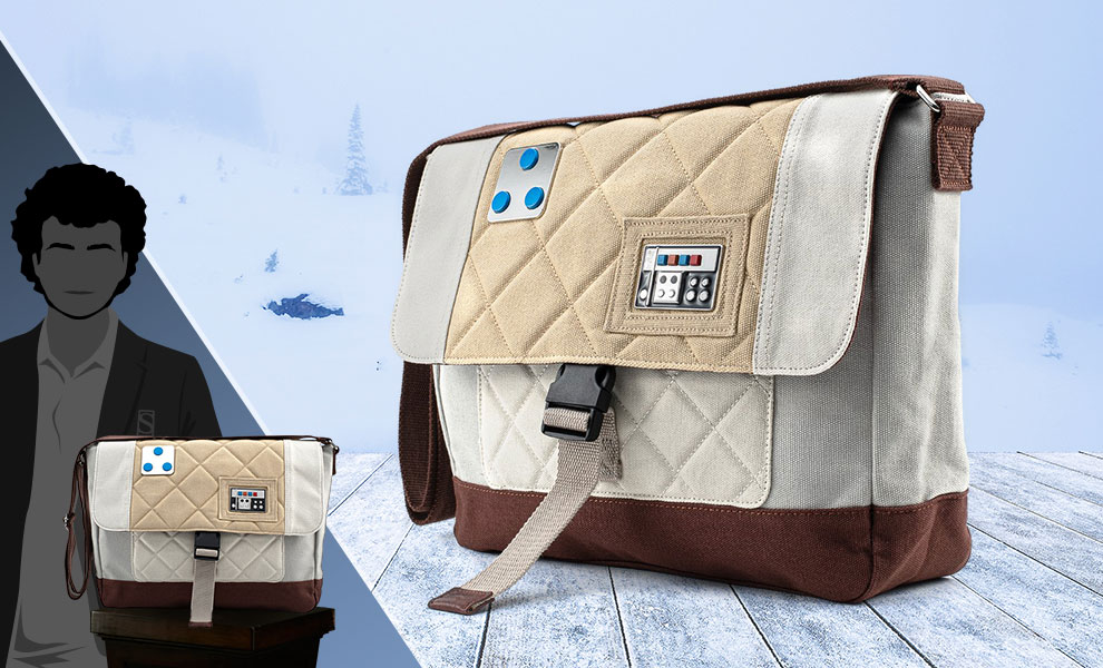 Gallery Feature Image of Empire Strikes Back 40th Anniversary Luke Skywalker Hoth Messengerbag Apparel - Click to open image gallery