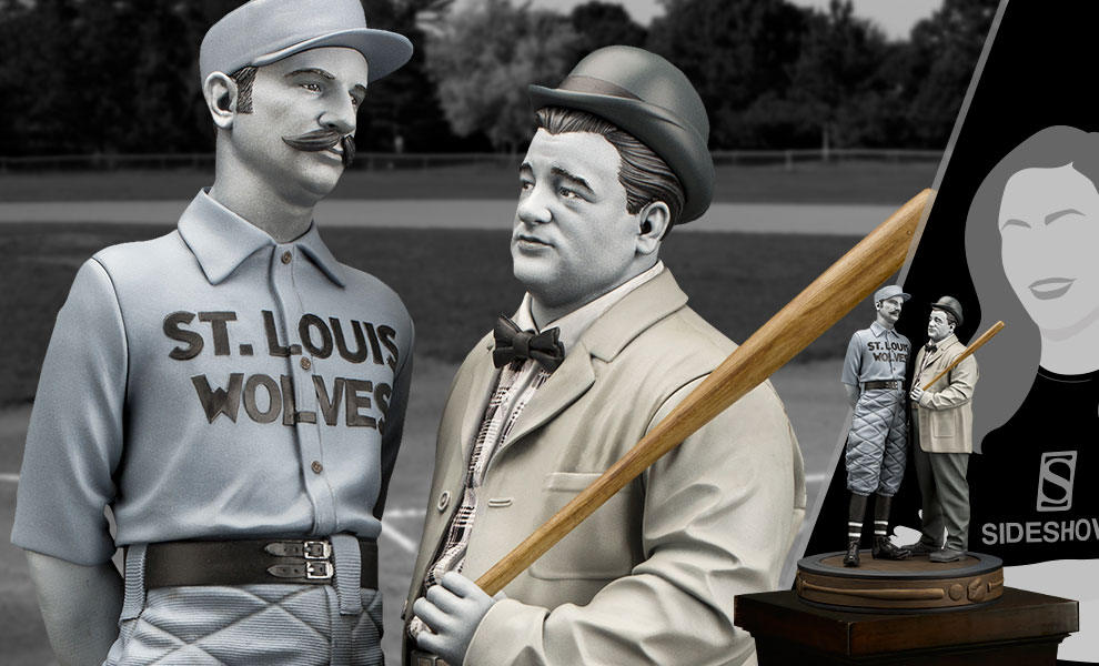 "Gallery Feature Image of Abbott & Costello ""Who's on First?"" Statue - Click to open image gallery"