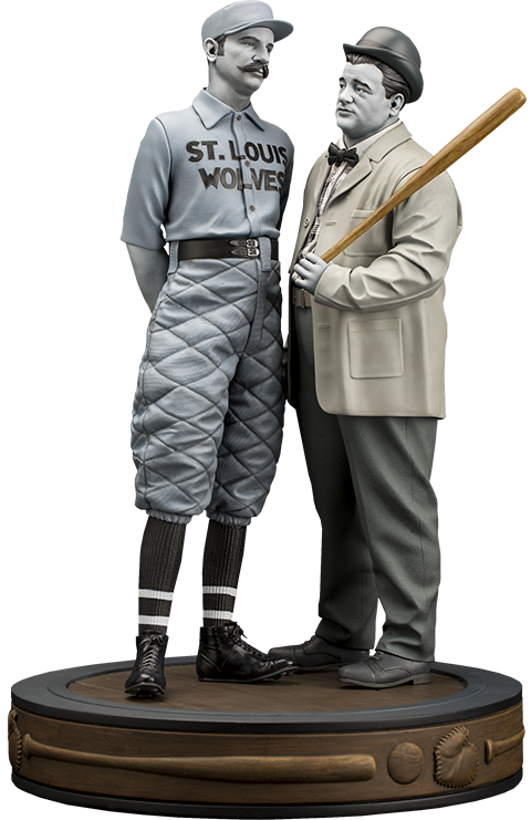 "Infinite Statue Abbott & Costello ""Who's on First?"" Statue"