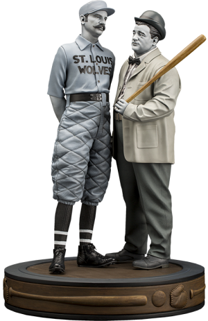 "Abbott & Costello ""Who's on First?"" Statue"
