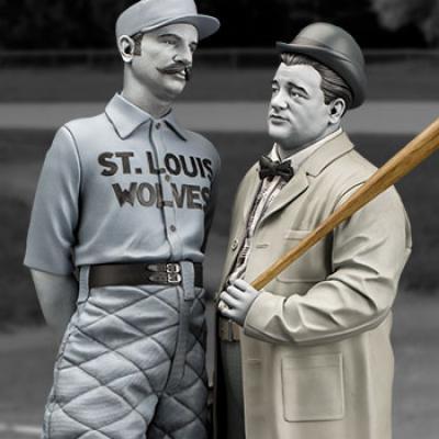 Abbott and Costello Statue (Infinite)