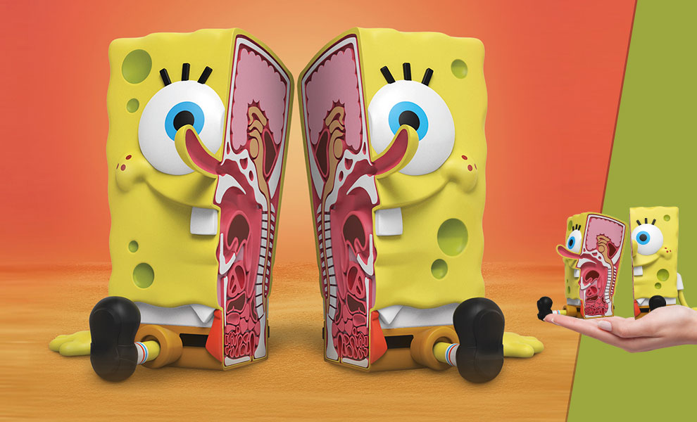 Gallery Feature Image of XXPOSED Spongebob Squarepants Polystone Statue - Click to open image gallery